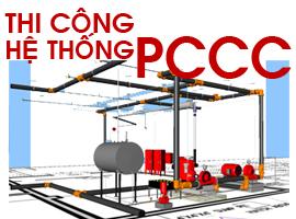Thi Công, Lắp Đặt Hệ Thống PCCC